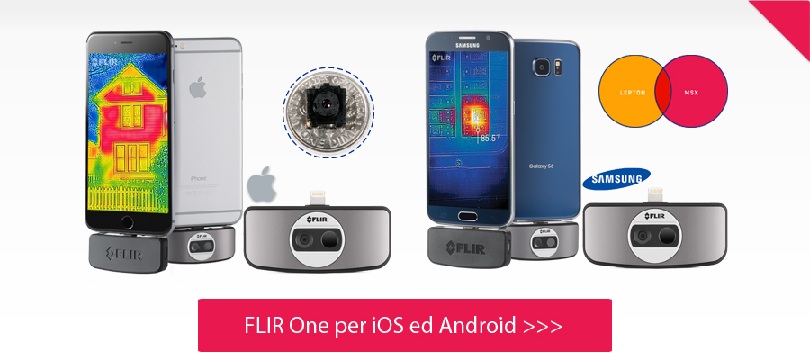 Flir One per iOS ed Android